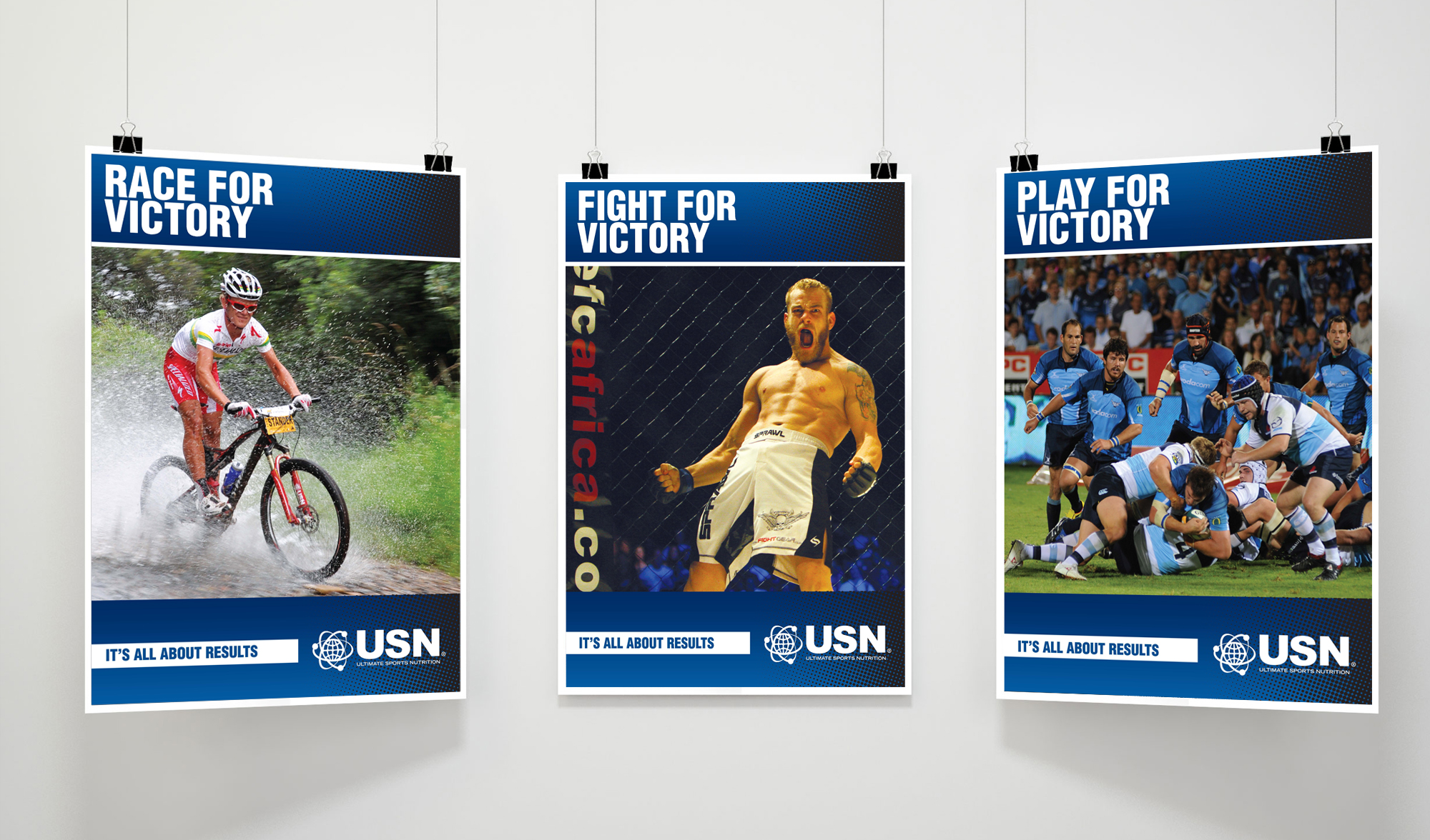Poster Series for USN