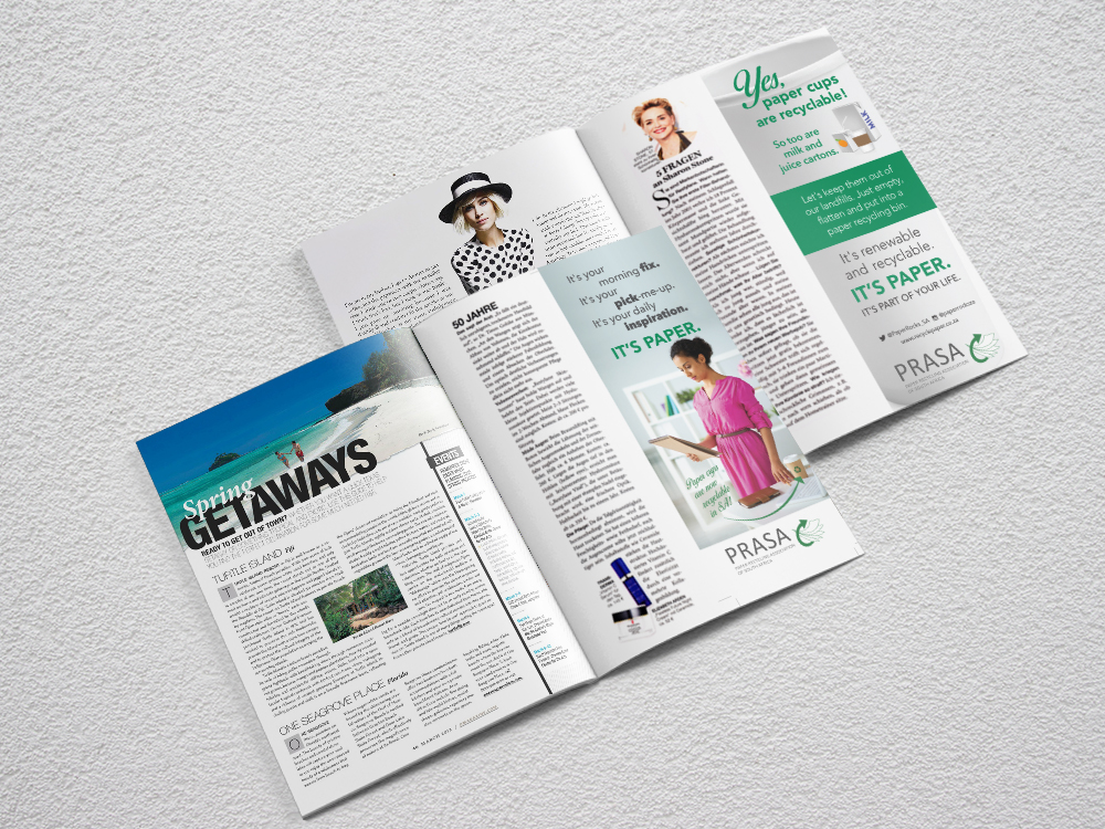 PRASA Magazine Advert