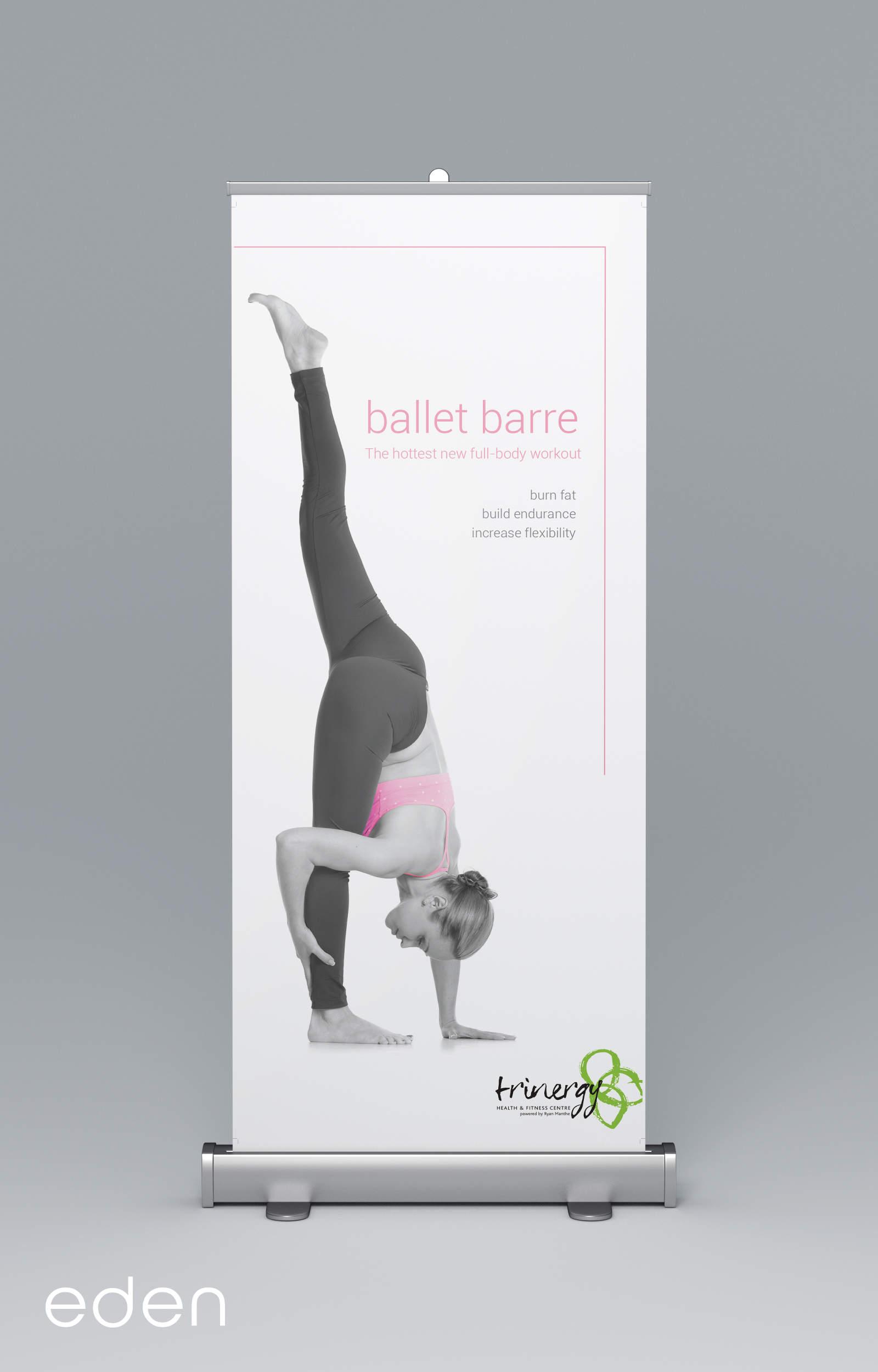 Ballet Barre Banner