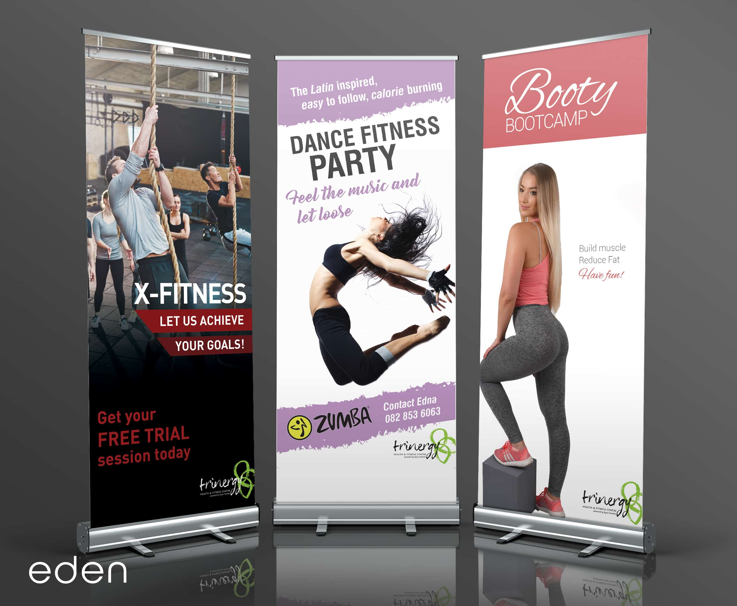 Trinergy Gym Banners