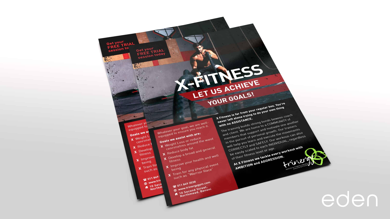 X-Fitness Pamphlets