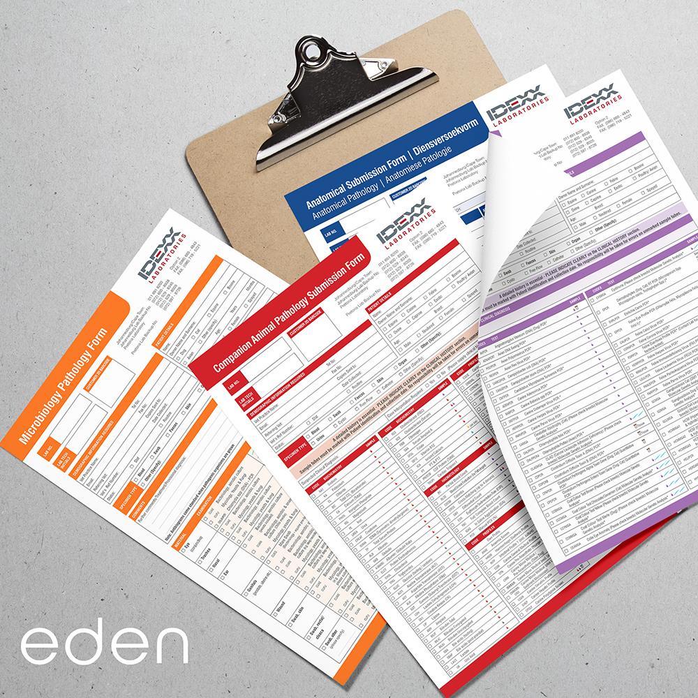 IDEXX forms