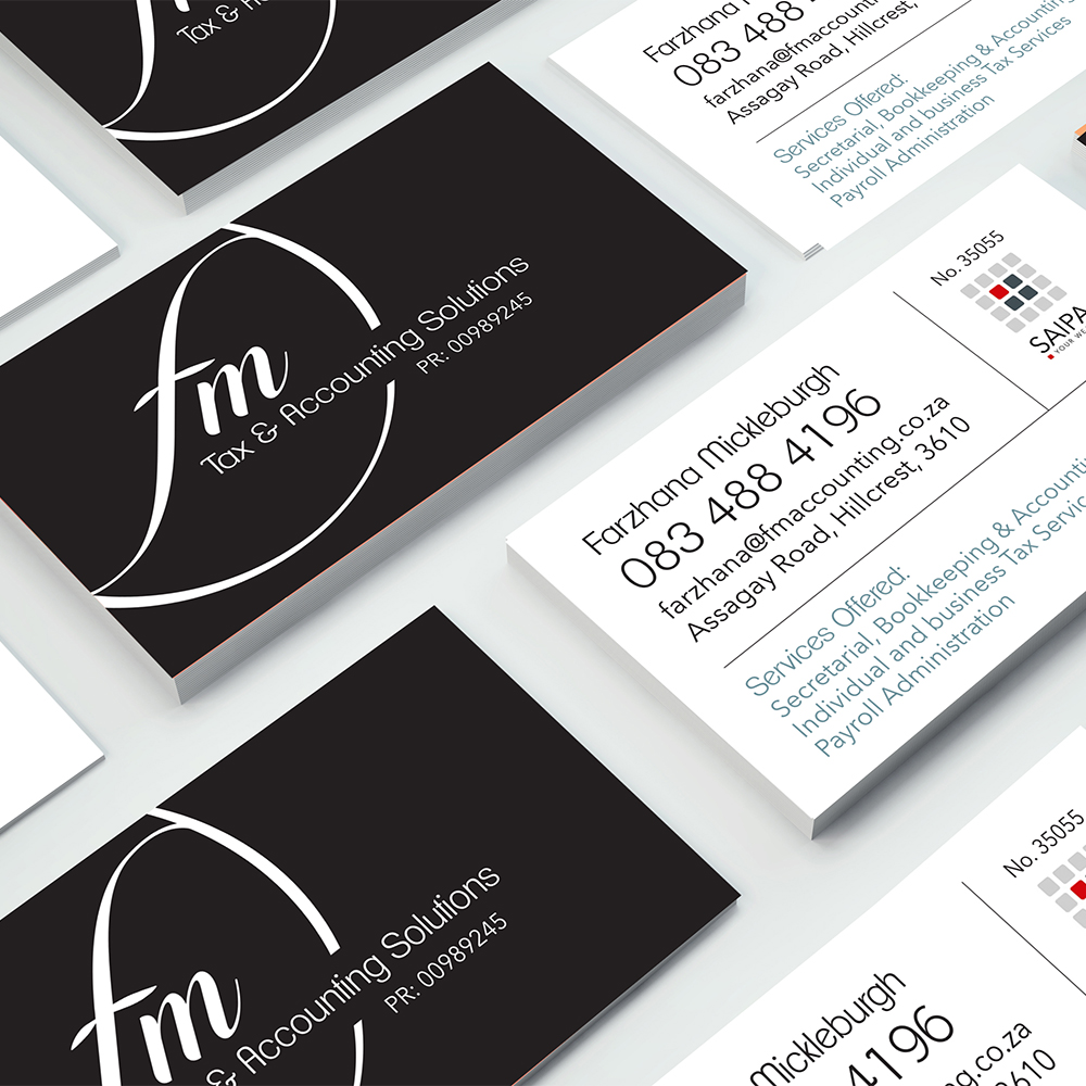 fm business cards